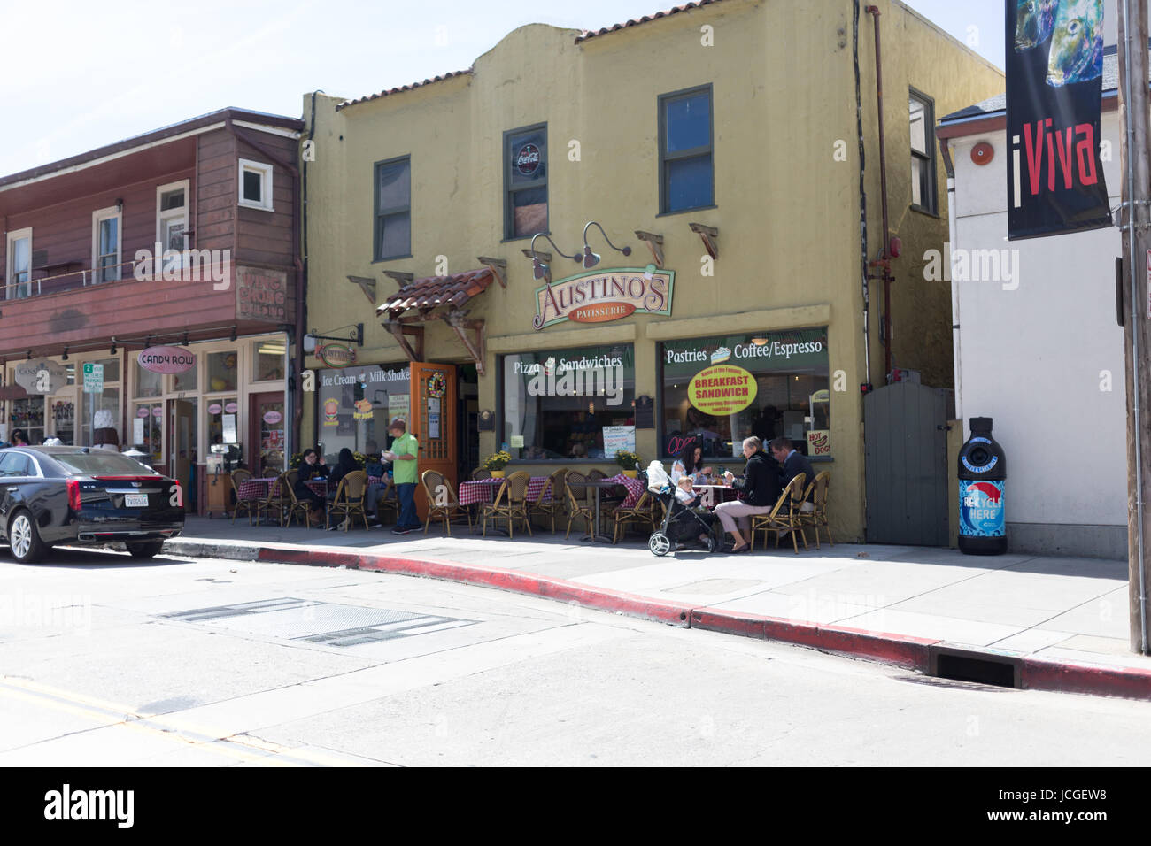 Cannery Row, Monterey - Stock Image