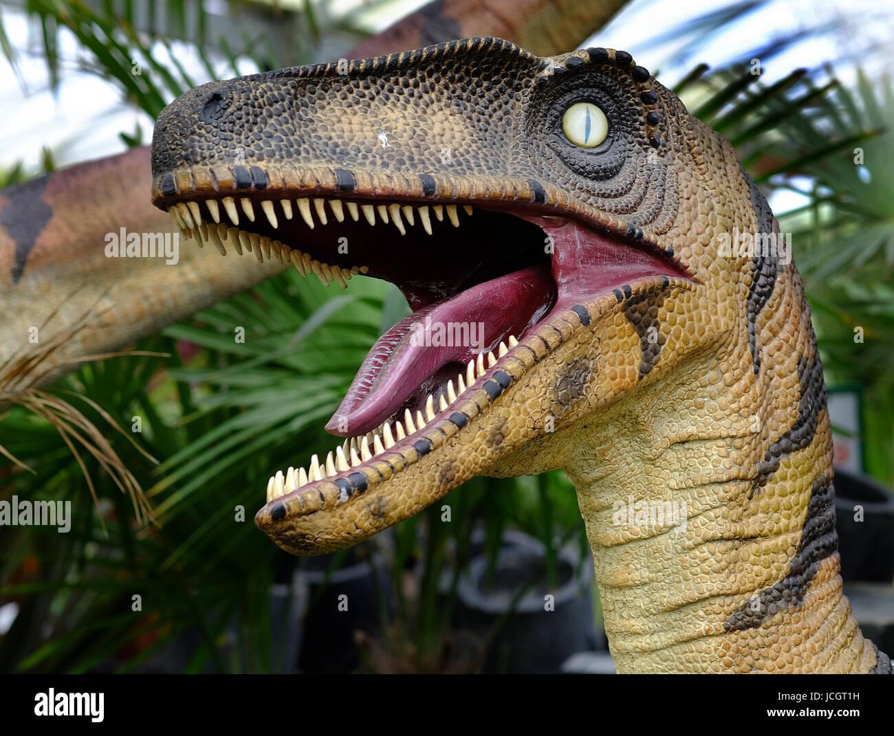 Fibre Glass Garden Dinosaur