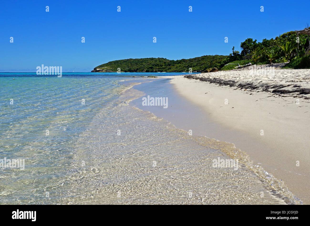 Green Island Beach - Stock Image