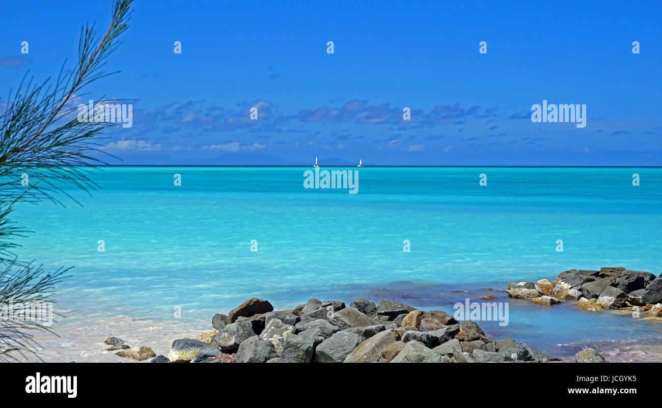 Jolly Beach to Montserrat - Stock Image