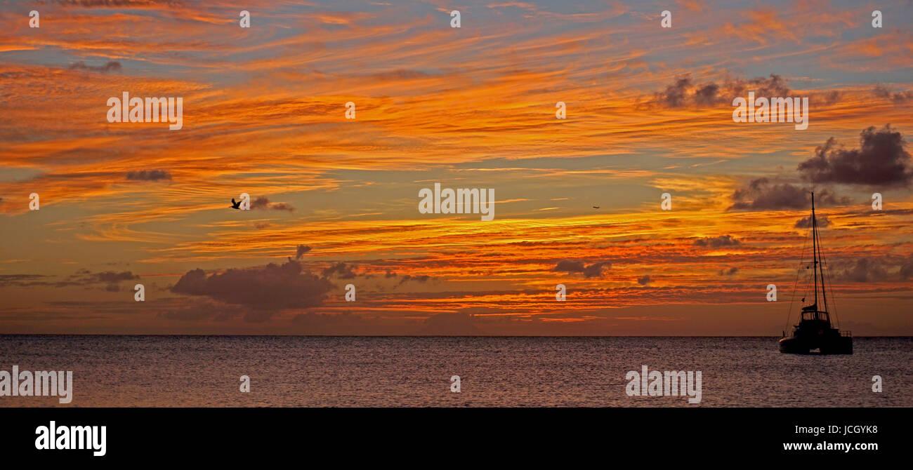 Jolly Beach Sunset - Stock Image