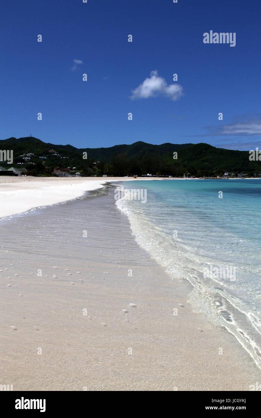 Jolly Beach - Busy? - Stock Image