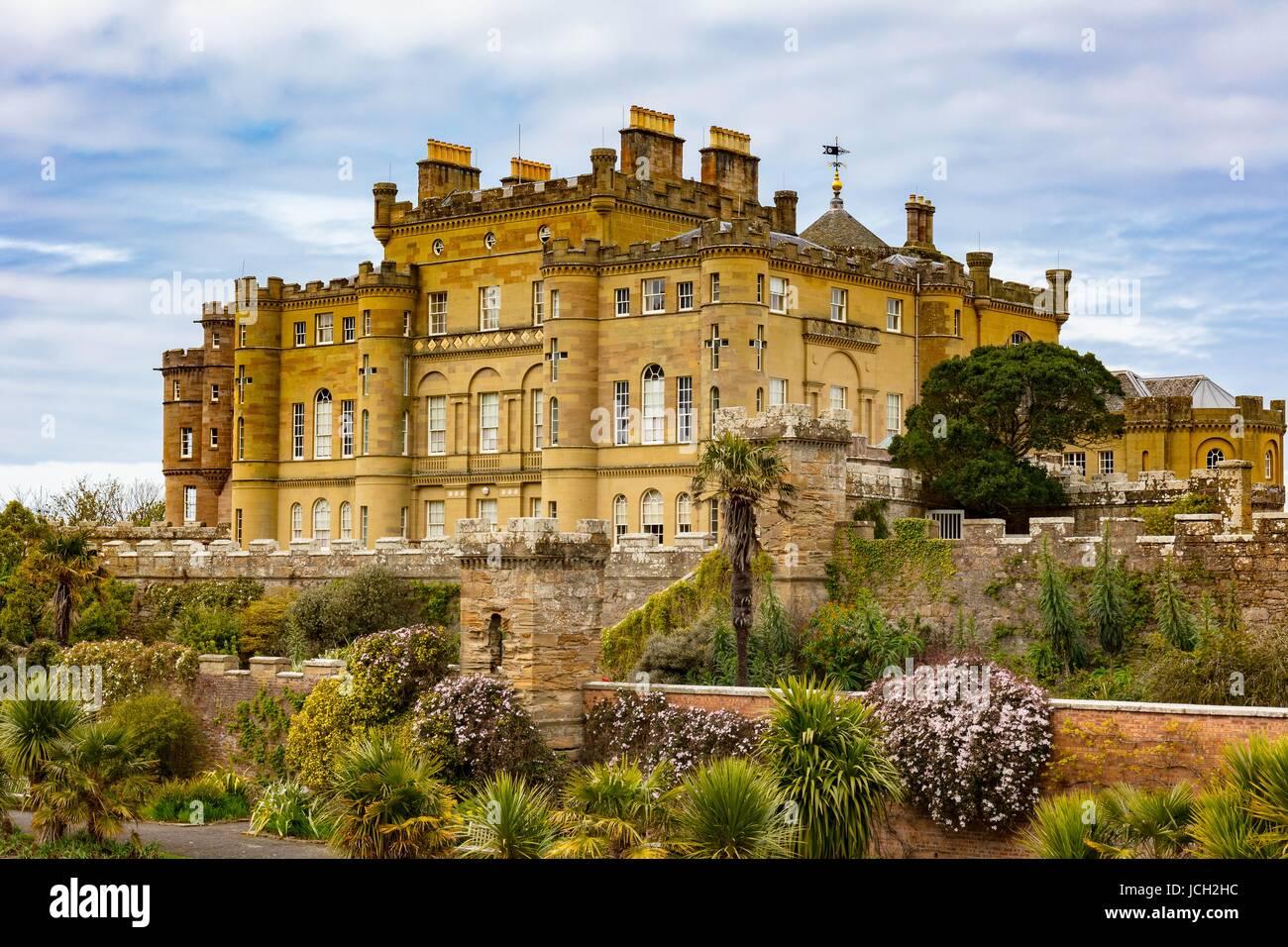 Colour photograph of Culzean Castle Scotland - Stock Image