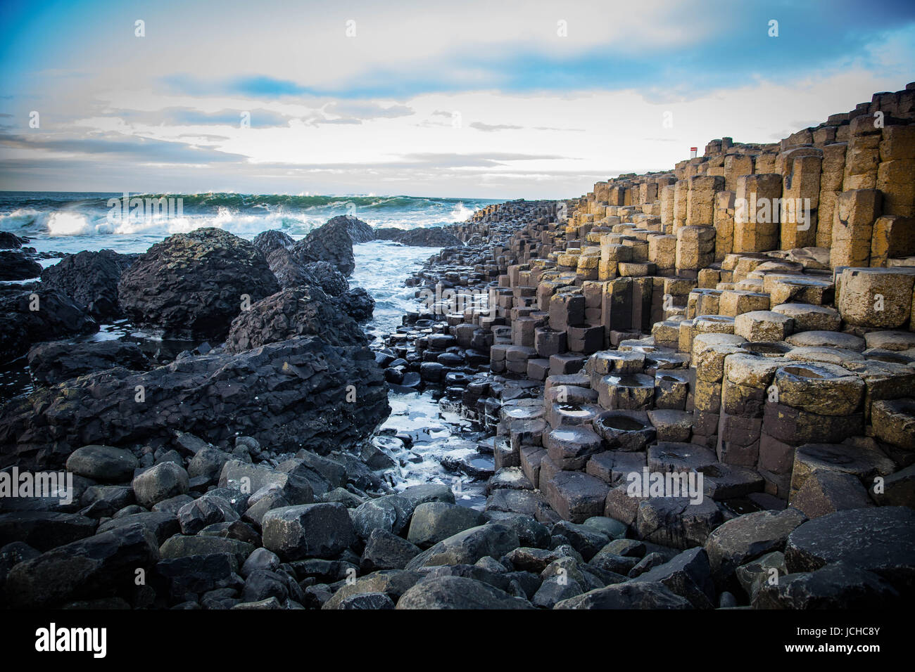 Giant's Causeway Stock Photo
