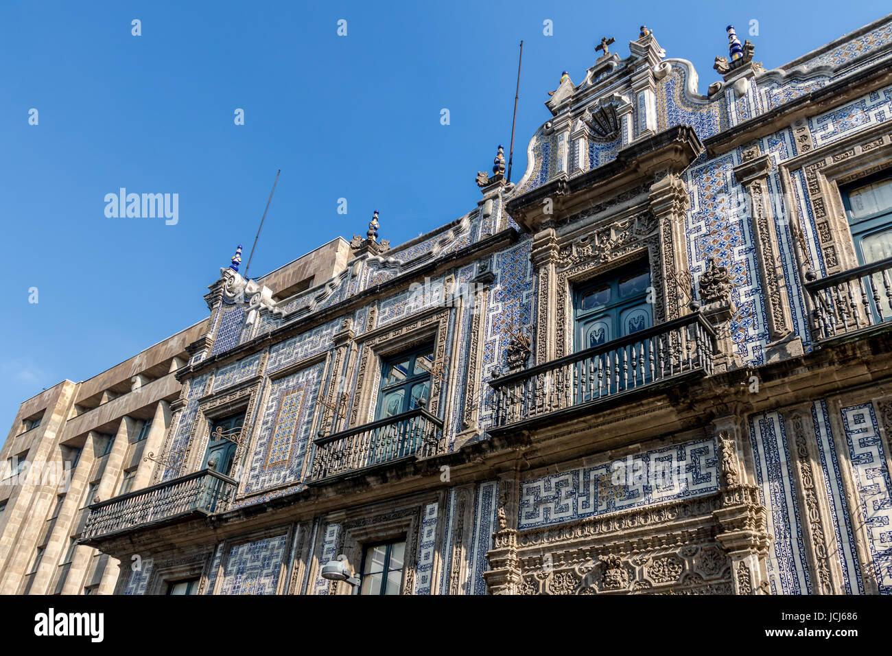 The House of Tiles (Casa de los Azulejos) - Mexico City, Mexico - Stock Image