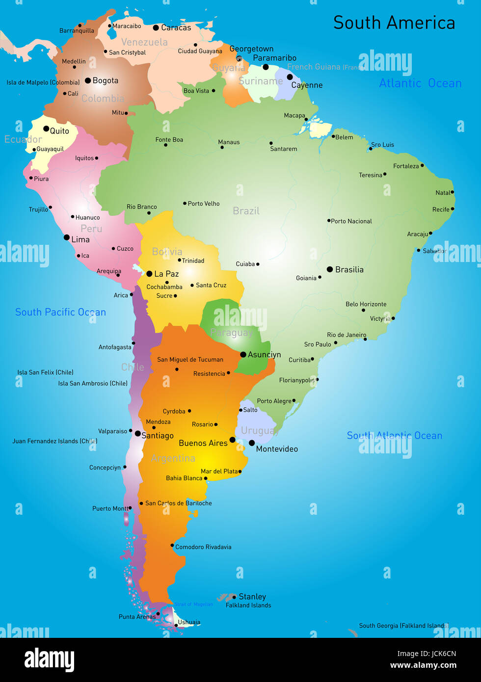 Outline Map Colombia High Resolution Stock Photography And Images Alamy