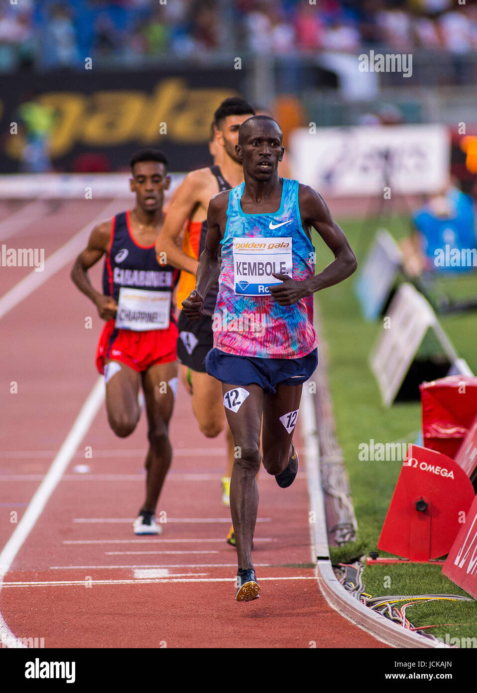 IAAF, Diamond League, Rome 2017 - Stock Image