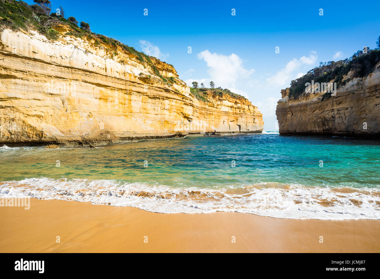 Loch Ard Gorge, Port Campbell on the Great Ocean Road, South Australia, near the Twelve Apostles - Stock Image