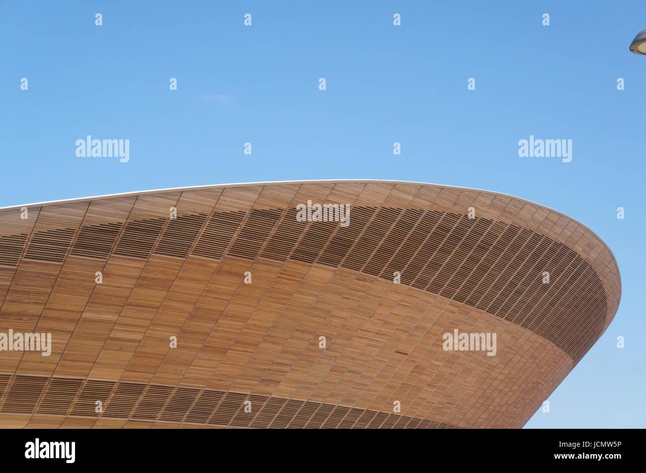 Hopkins Velodrome 2012 London Olympics - Stock Image