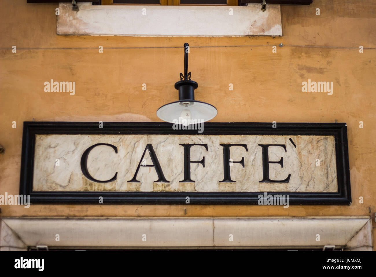 Italian Coffee Shop - Stock Image