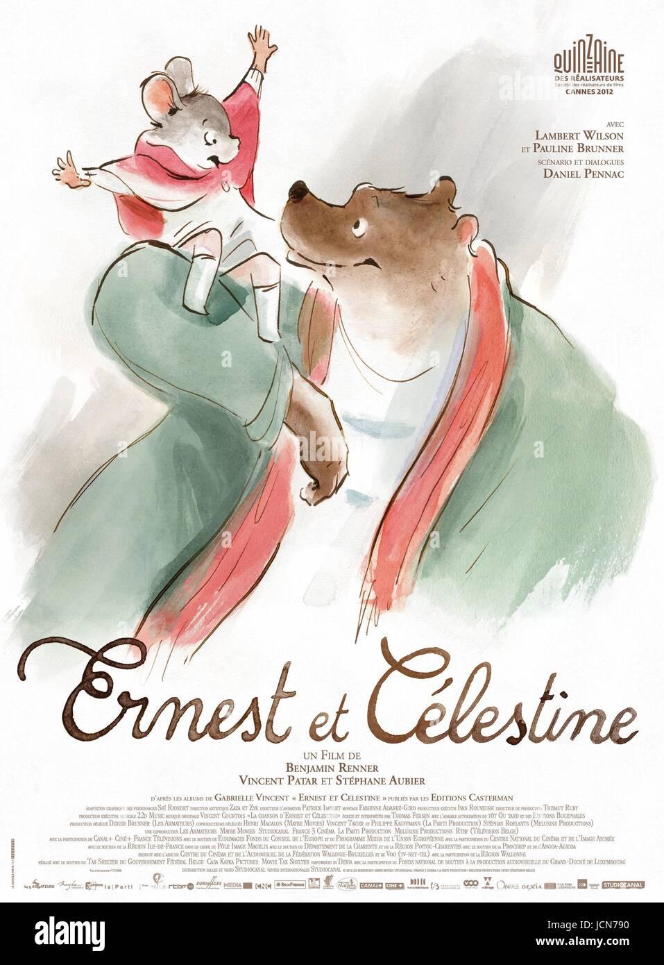 Ernest et Celestine - Stock Image