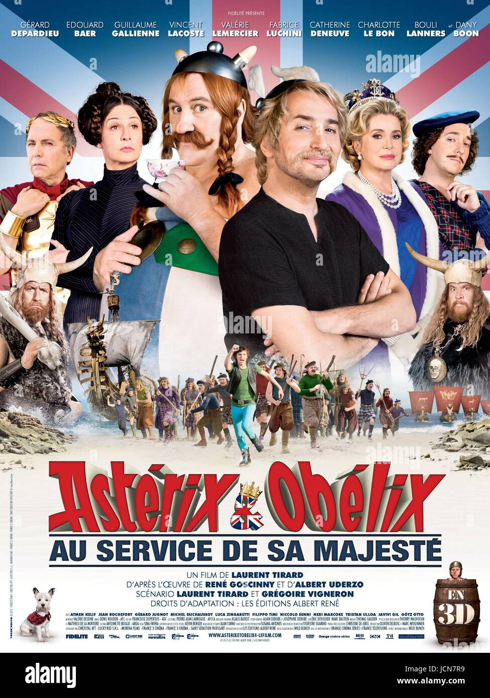 asterix et obelix au service de sa majeste