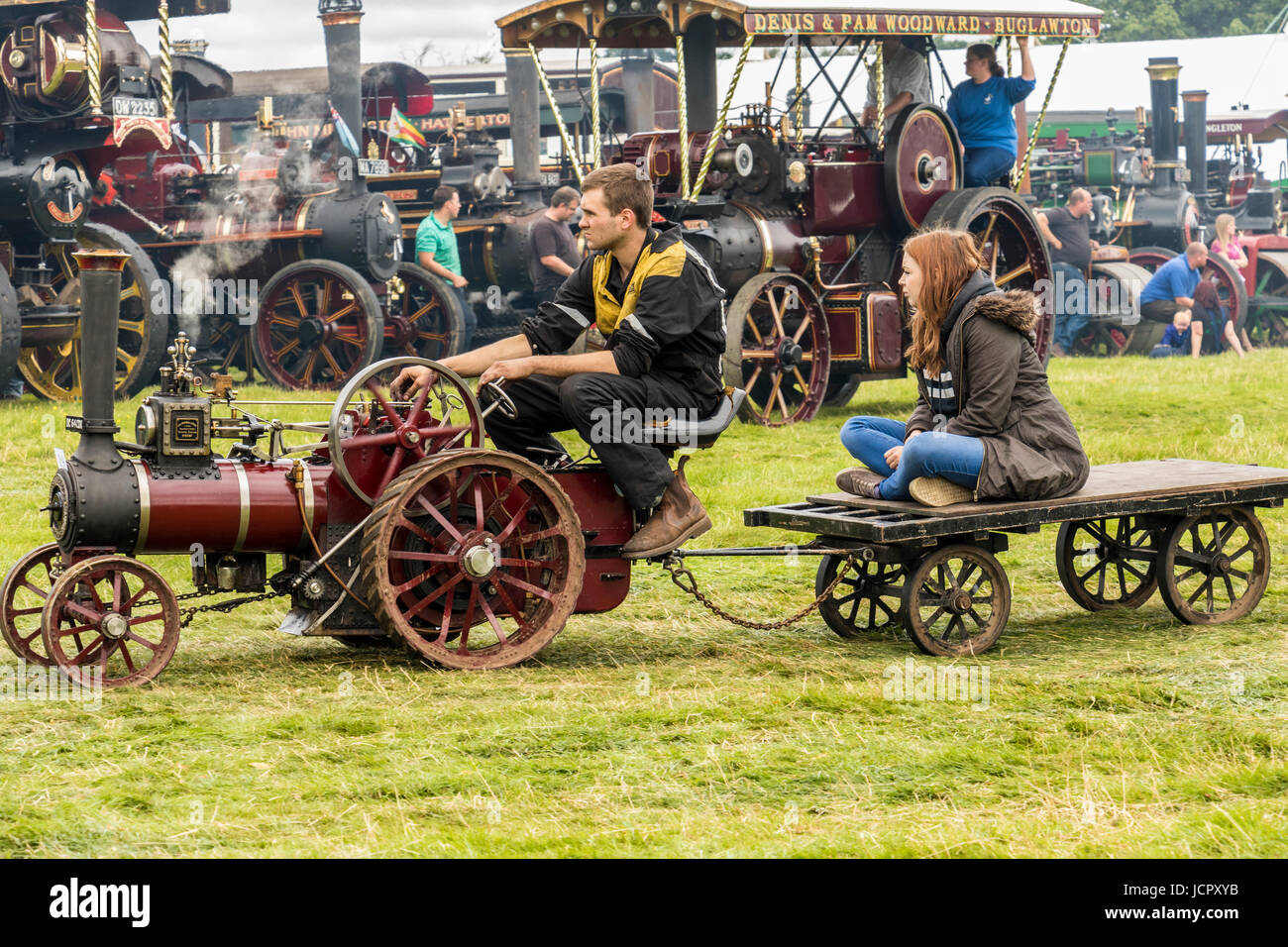 Cheshire steam show England - Stock Image