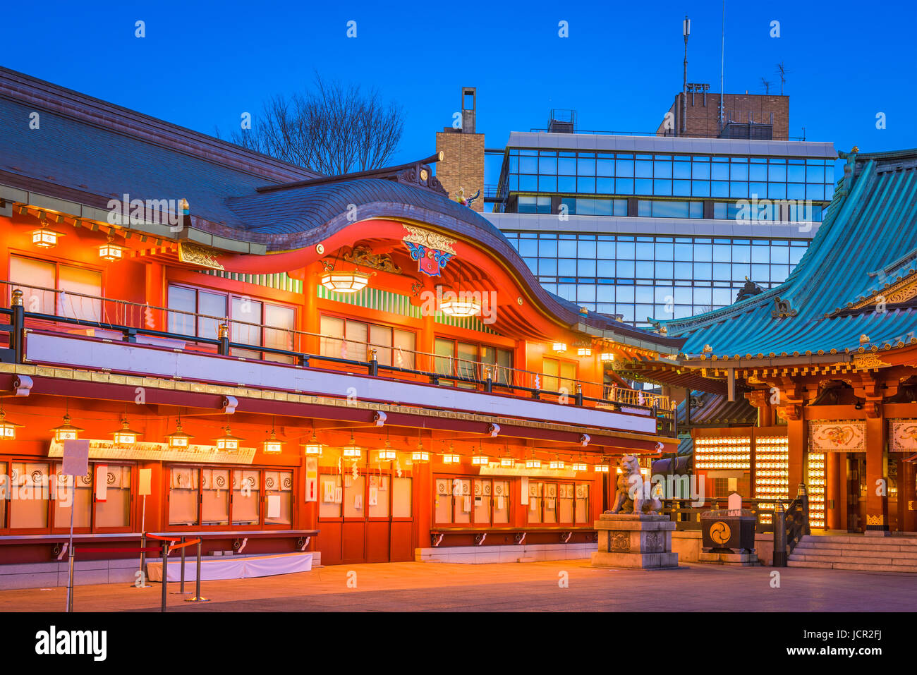Tokyo, Japan at Kanda Shrine's main gate. - Stock Image