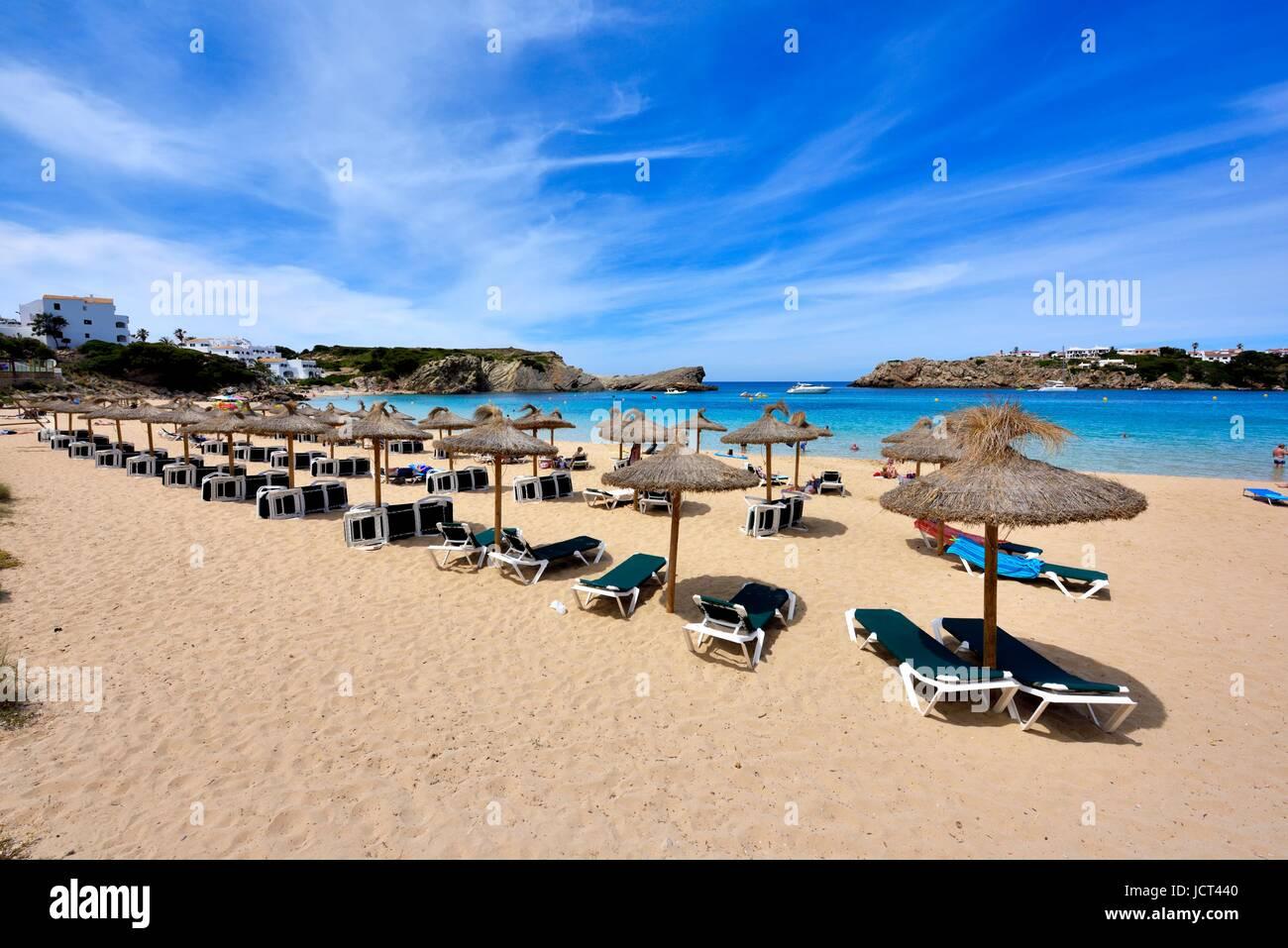 Arenal D'en Castell Menorca Spain - Stock Image