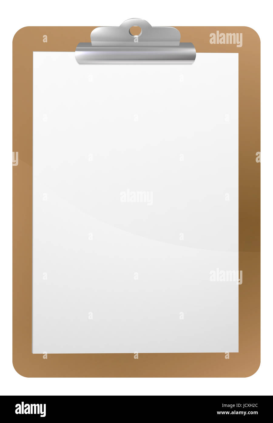 Background frame illustration of a clipboard with clip and blank ...