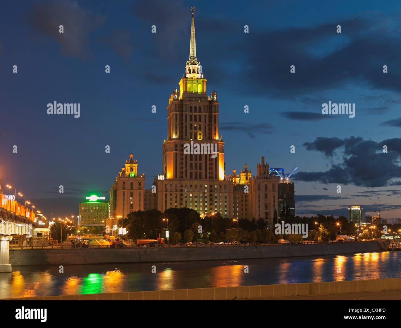 hotel ukraina moscow russia stock photos hotel ukraina moscow rh alamy com