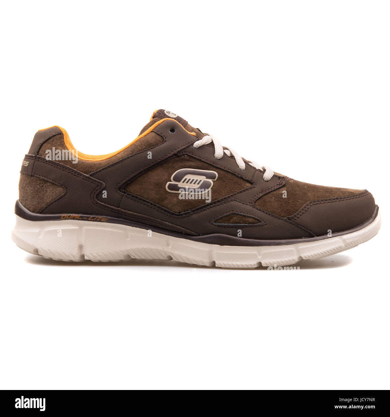 Skechers Equalizer Timepiece Brown Men's Running Shoes - 999669-BRN - Stock Image