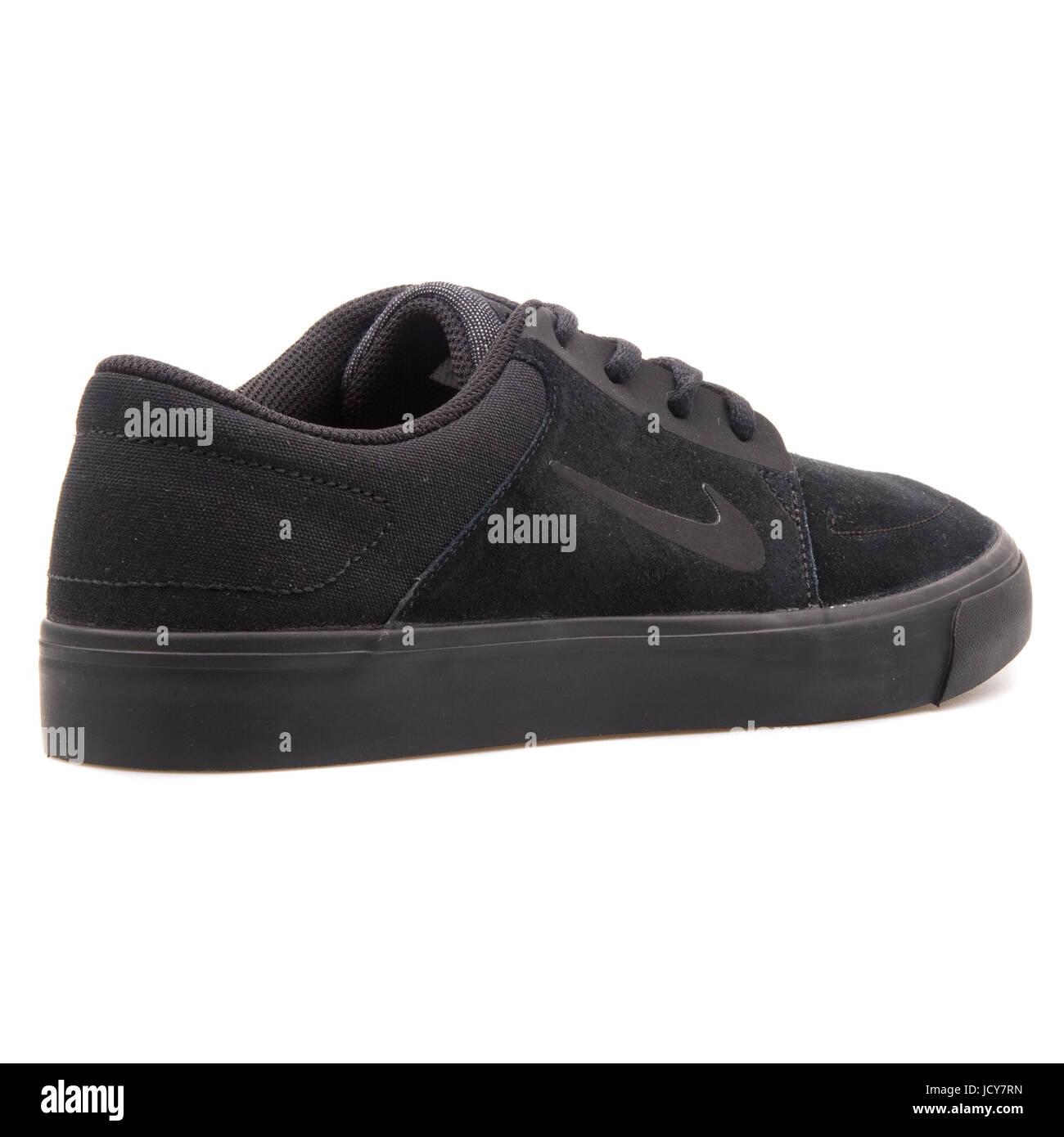 Nike SB Portmore Black Men's Skateboarding Schuhe 725027