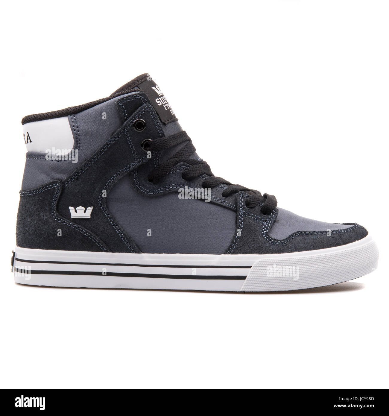 best website 120b1 53ceb Supra Vaider Charcoal White Men s Sportive Shoes - S28271