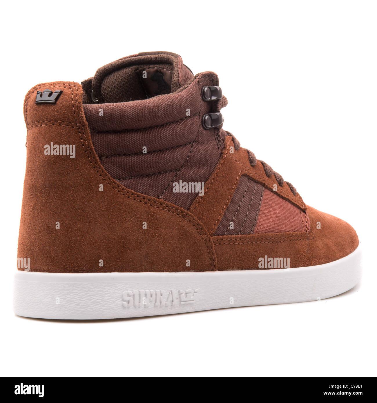 321f68ea1ea0 Supra Bandit Brown Chocolate White Men s Sportive Shoes - S39044 ...
