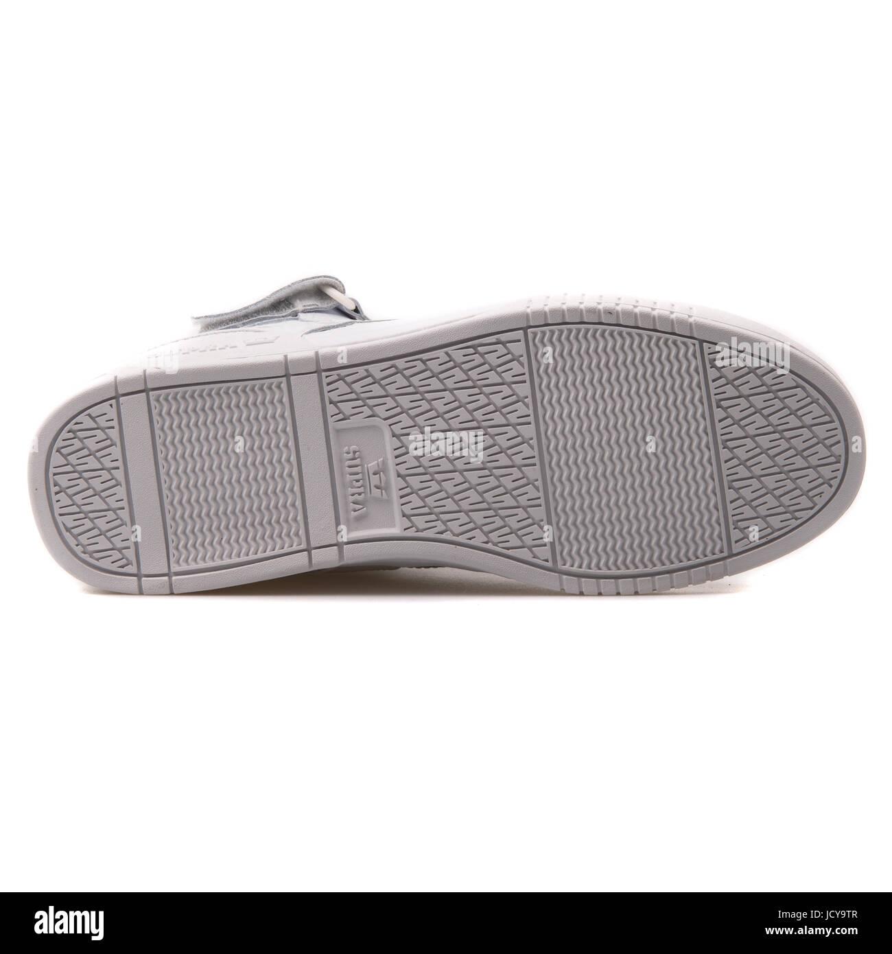 c2c3ec59f906 Supra Bleeker White Men s Sportive Shoes - S02103 Stock Photo ...