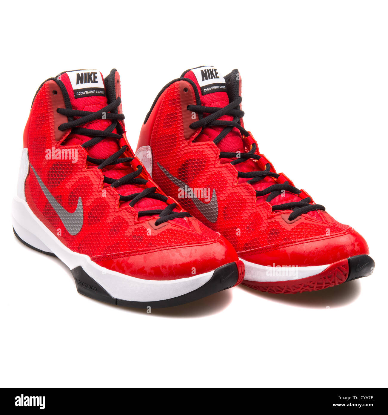 0f4650d5f42 Nike Zoom Without A Doubt Red