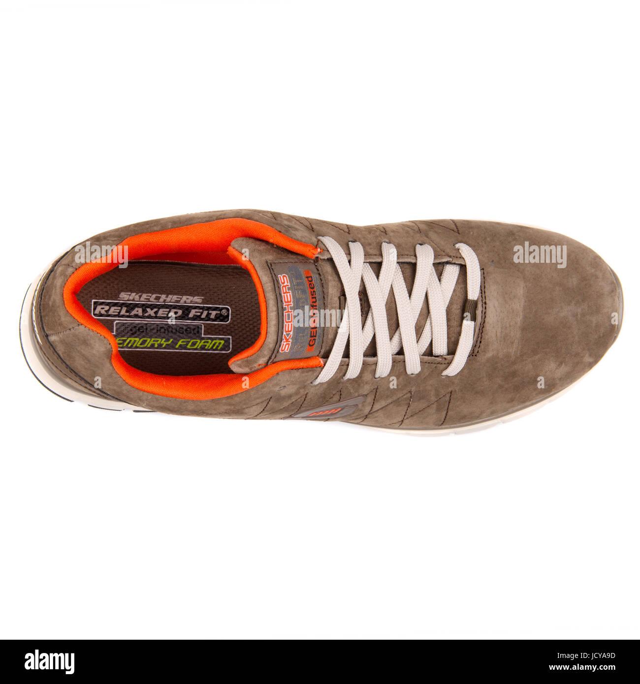 Skechers Skech Flex Natural Vigor Brown and Orange Men's