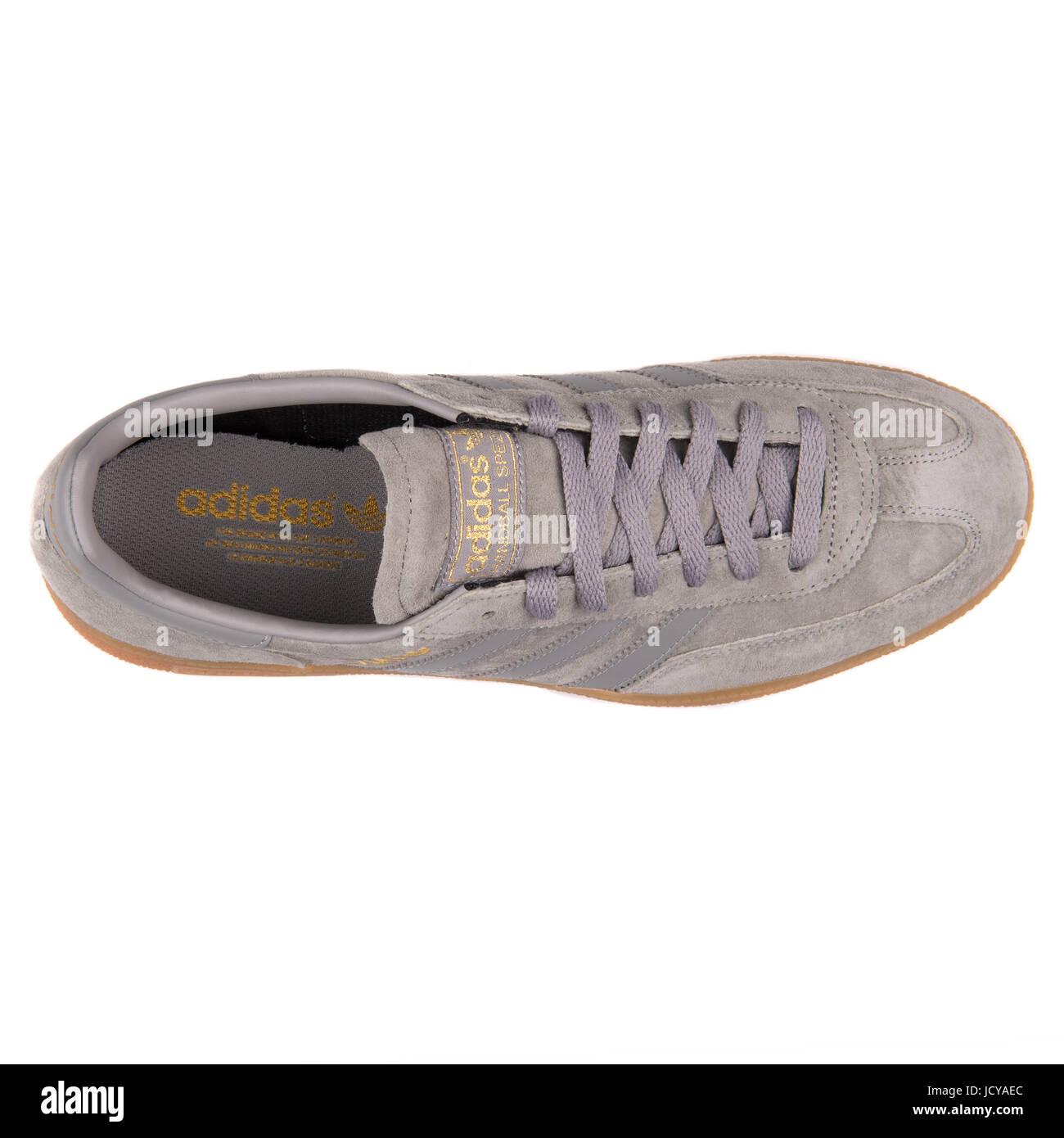 Adidas Spezial Grey Men's Sports Shoes - B35207 Stock Photo - Alamy