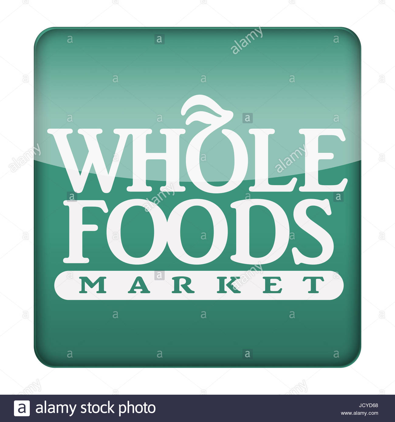 Whole Foods Market Icon Logo Button