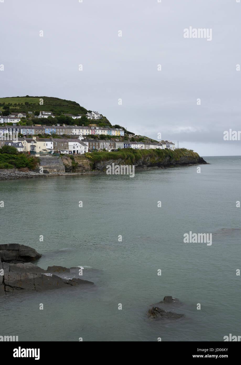 New quay cardigan bay wales - Stock Image