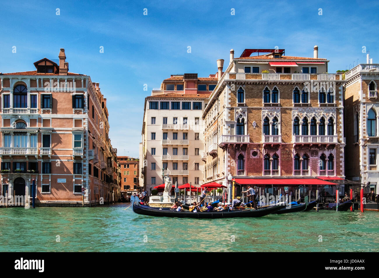 Venice Italy Hotel Bauer 5 Star Luxury Hotel In Elegant Old Palazzo