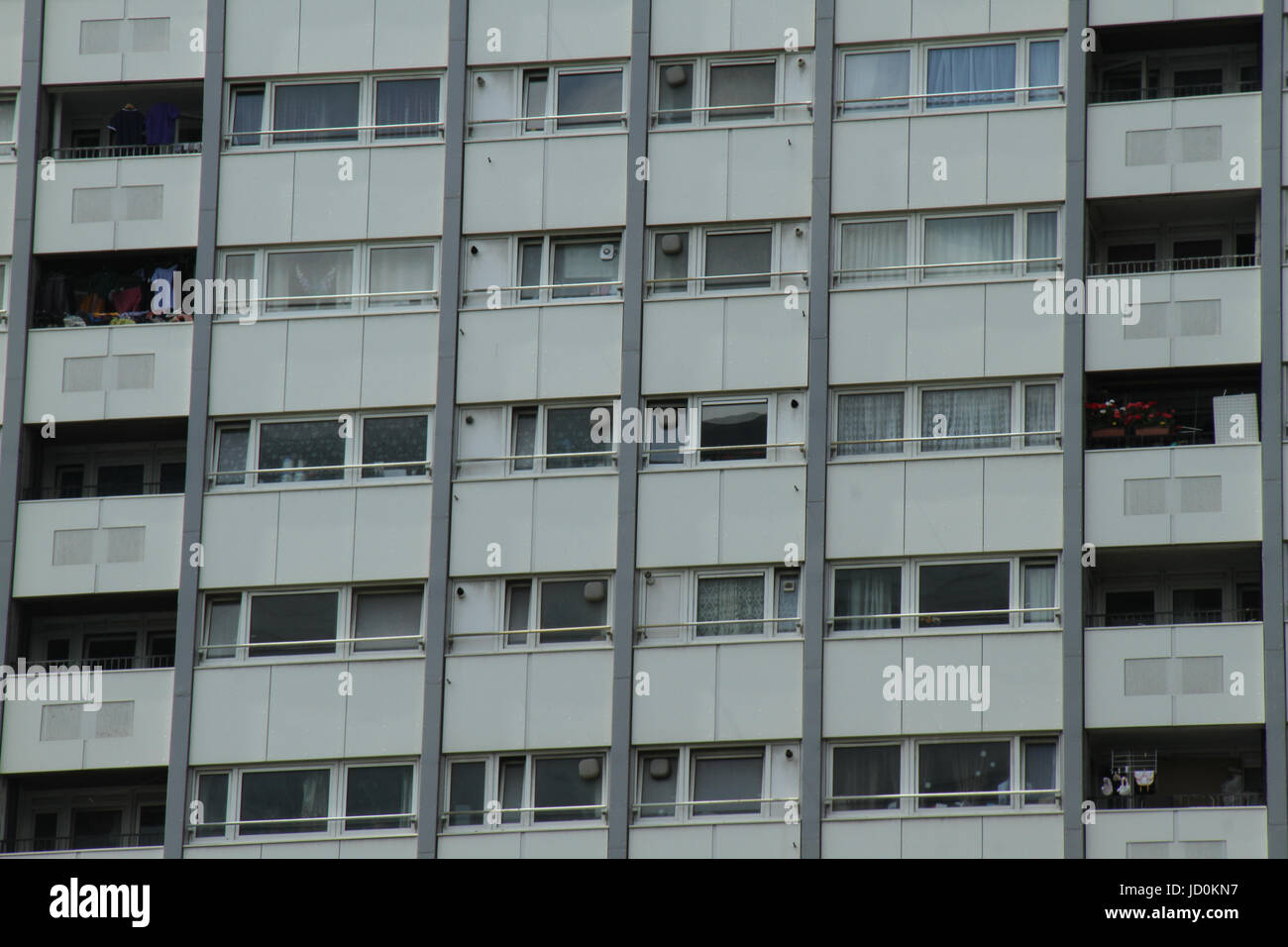 London, UK. 16th June, 2017. Tower blocks with cladding located in the borough of Kensington and Chelsea. Credit: - Stock Image