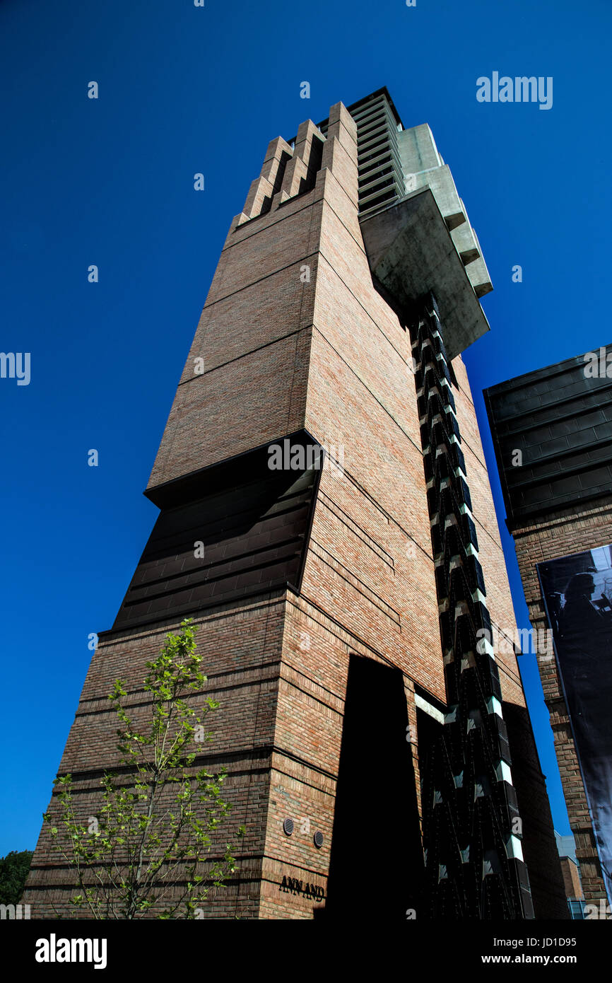 Ann and Robert H. Lurie Tower carillon University of Michigan, Ann Arbor - Stock Image