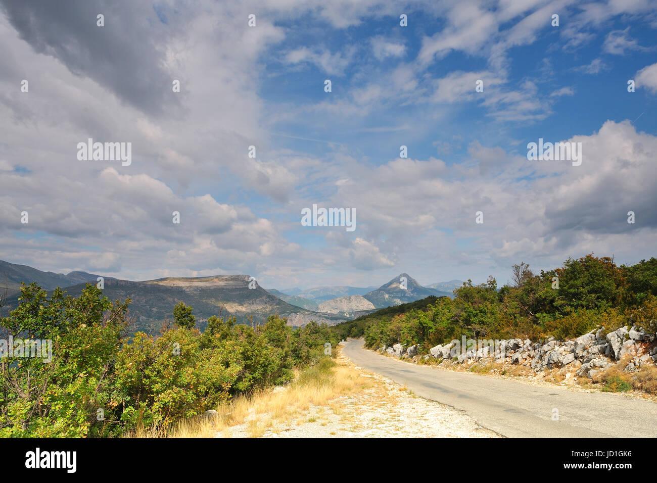 national park, alps, france, ravine, mountain, national park, alps, width, Stock Photo