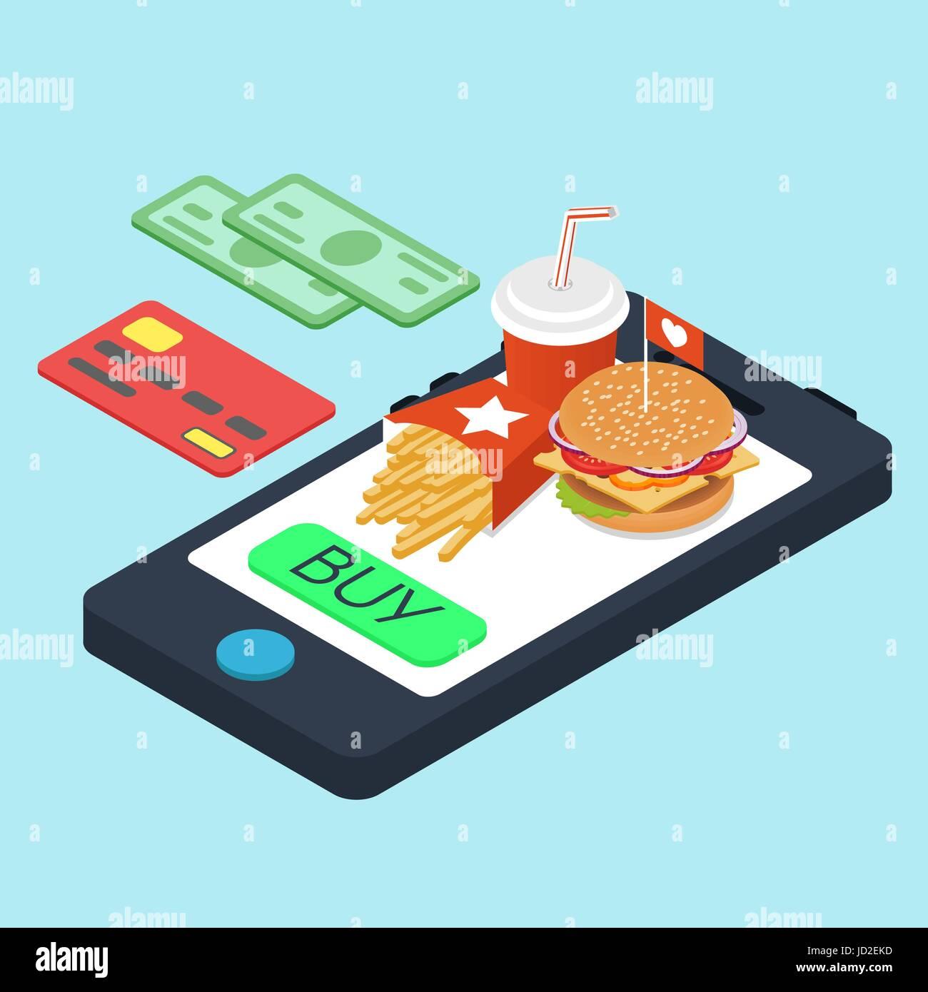 Resultado de imagem para fast food online