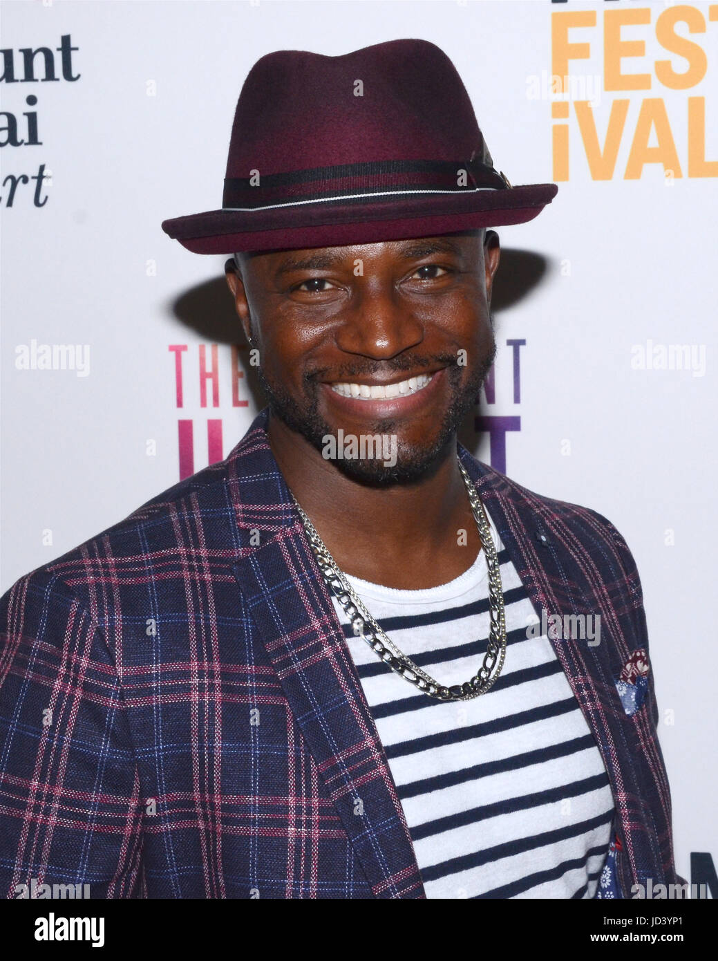 Susan Froemke and Taye Diggs during the LA Film Festival screening for the feature documentary, The Resilient Heart, - Stock Image