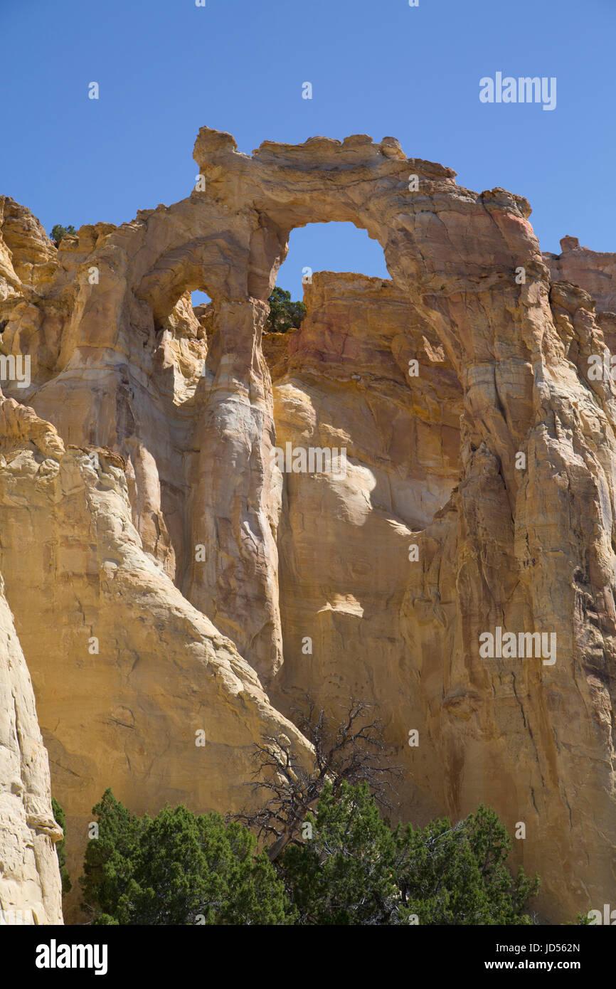 Grosvenor Arch, Grand Staircase-Escalante National Monument, Utah, USA Stock Photo