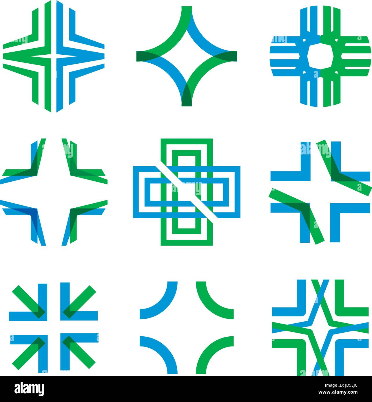 Intersecting Stock Vector Images Alamy