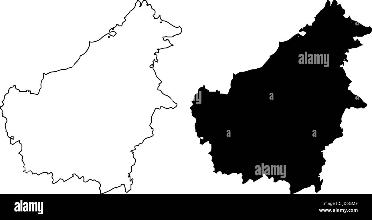 borneo map high resolution stock photography and images alamy https www alamy com stock photo borneo map vector illustration scribble sketch borneo 145796345 html