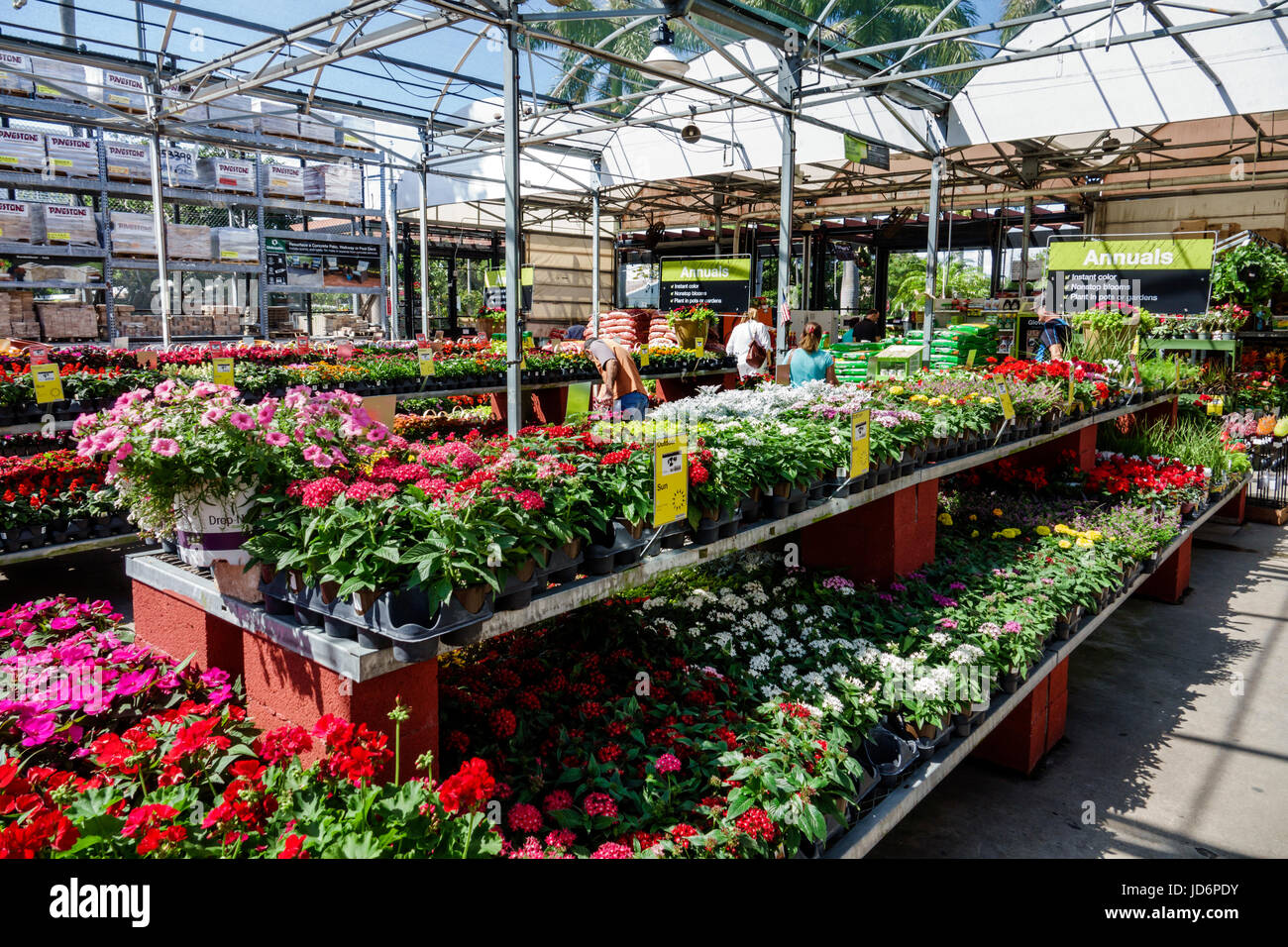 Florida Fl South Miami Little Havana Home Depot Home Stock Photo Alamy