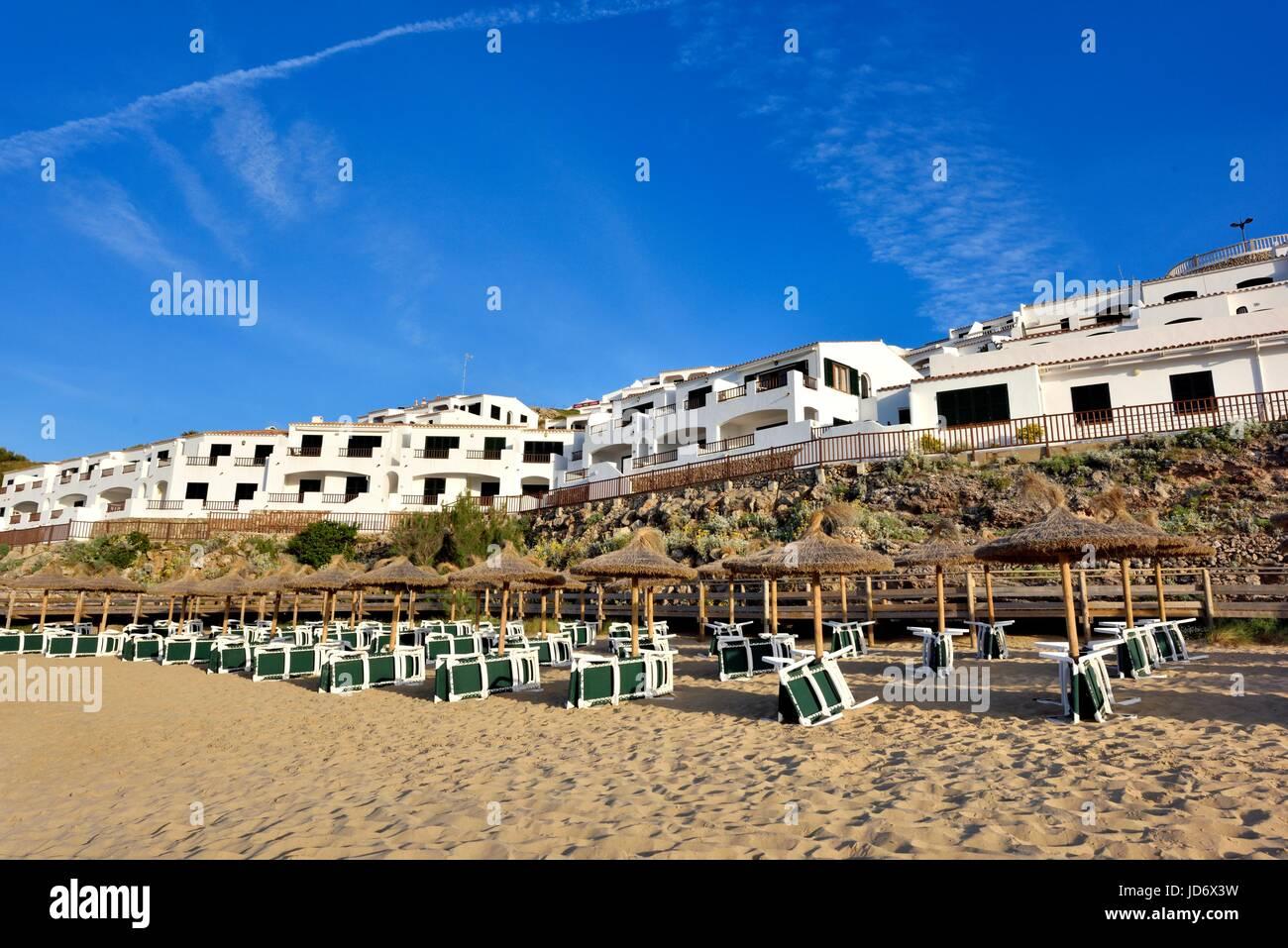 Sea view villas apartments - Stock Image