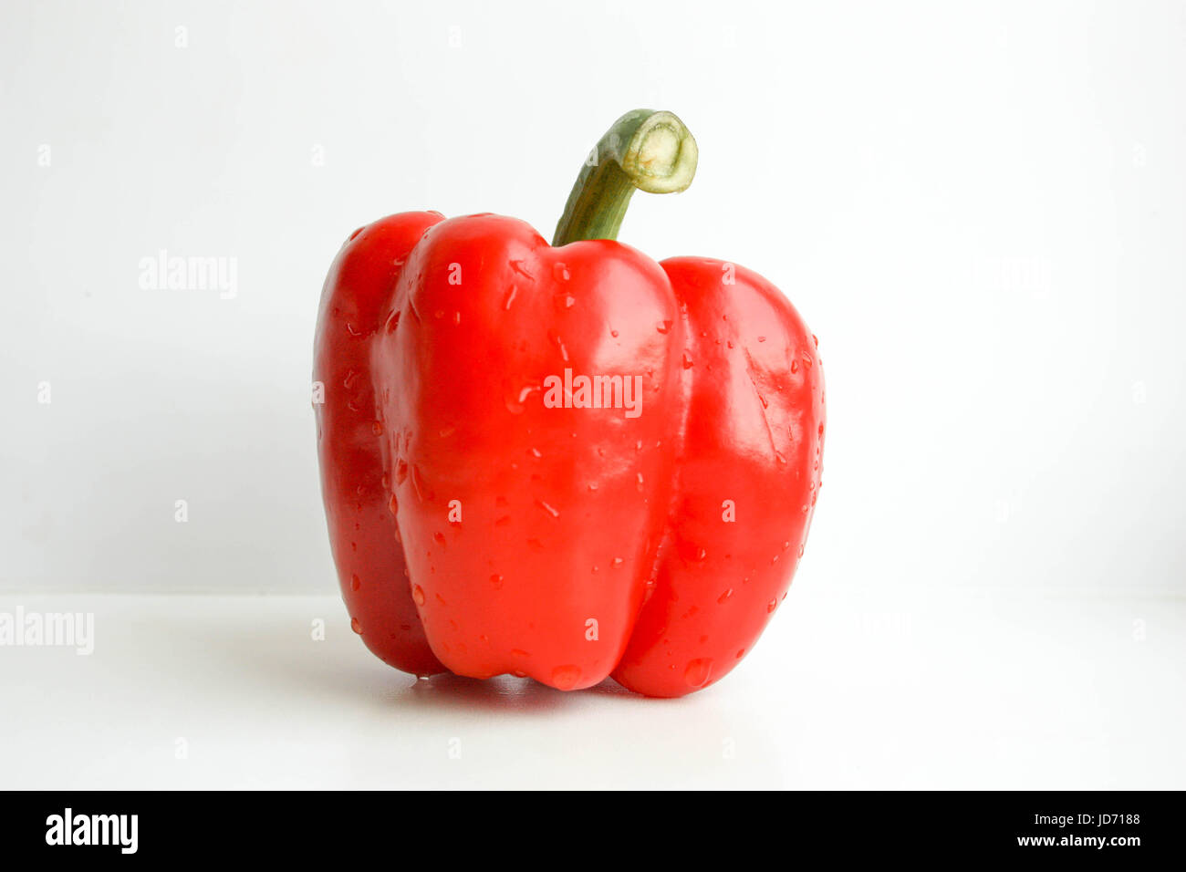 Red pepper. Photo for your design. Horizontal orientation - Stock Image