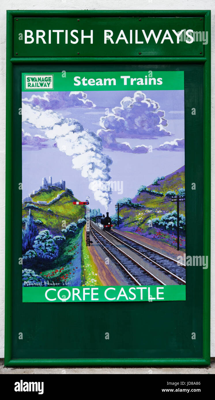 Old british railways posters that interfere
