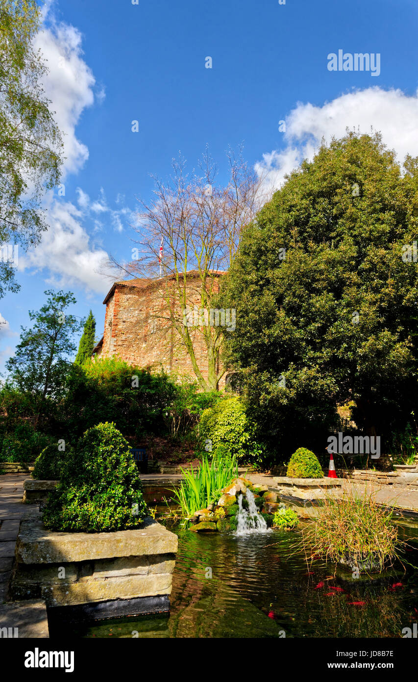 Colchester Castle, Colchester in Essex - Stock Image