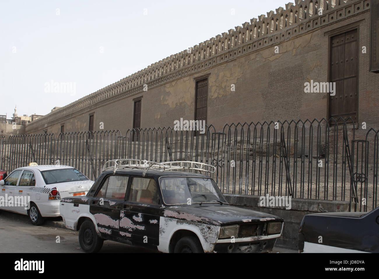Islamic and coptic area - Stock Image