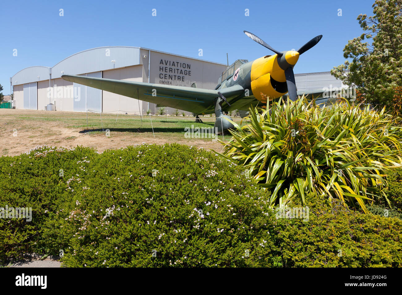 Omaka Aviation Heritage Centre, Omaka, New Zealand - Stock Image