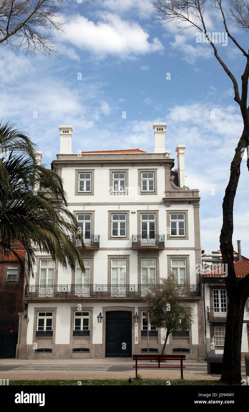 Grand Architecture Jardim Do Passeio Alegre in Porto - Portugal - Stock Image