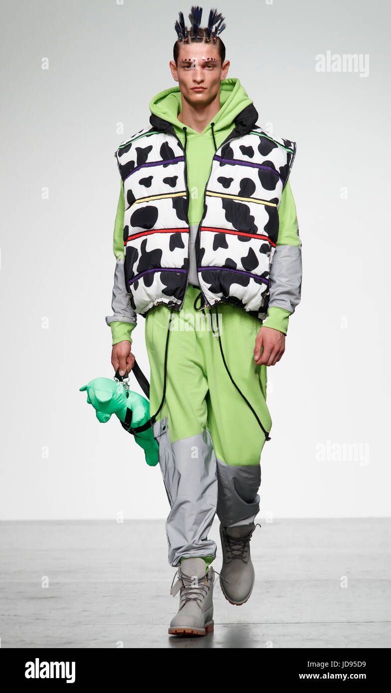 Bobby Abley London Collection Mens June 2017 Stock Photo