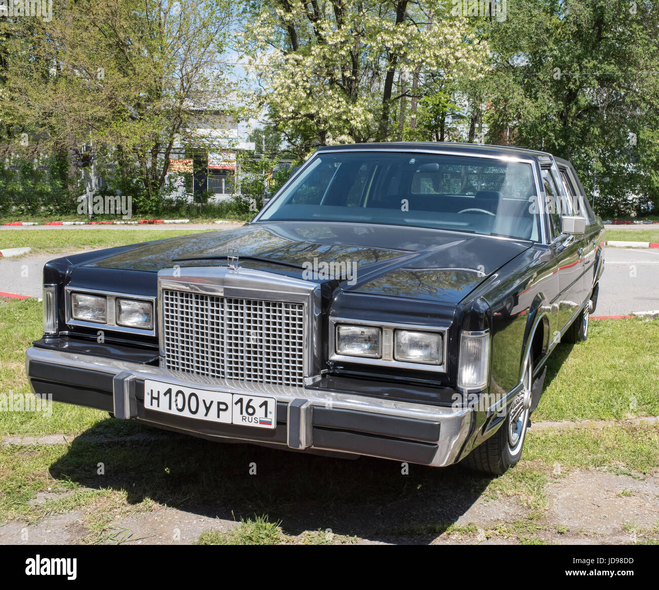 Lincoln Continental Town Car Stock Photos 1941 Rostov On Don Russia May 212017 Vintage